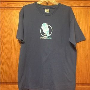 Tops - Blue Tee | Michael Buble' | Size Large |…